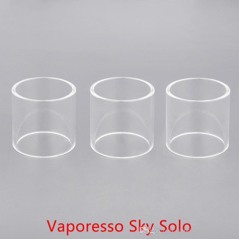 DHL Ücretsiz Kargo satın ucuz Sky Solo Genişleme Kabarcık Cam tüp ile Toptan Sky Solo Yedek Cam Tüp
