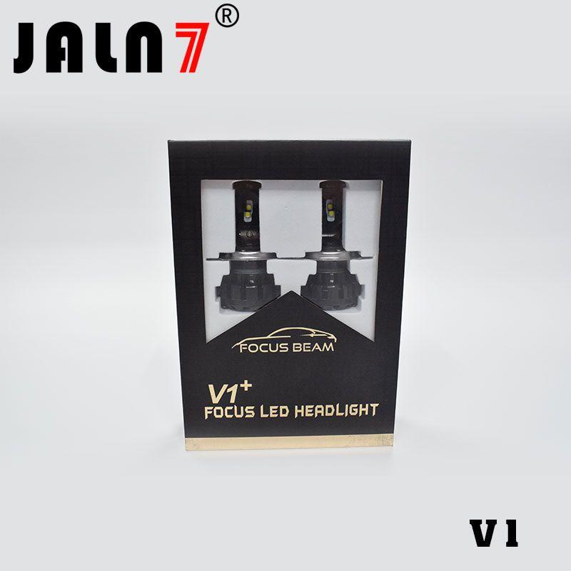 V1 60W 6500K 자동차 블랙 LED 헤드 라이트 전구 램프 정장 / H3 / H4 / H7 / H8 / H13 / 9,006분의 9,005 / 9,007분의 9,004 H1