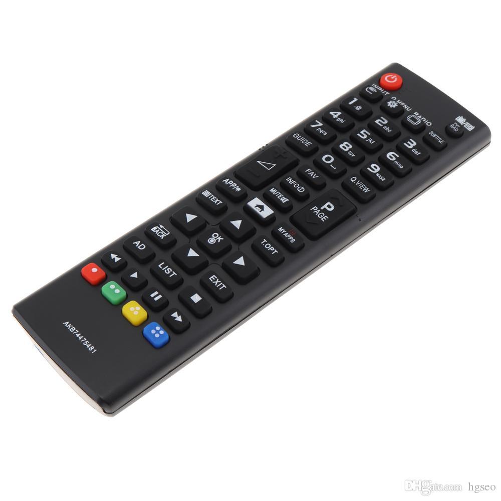 IR 433 MHZ AKB74475481 Substituição TV Controle Remoto Distância Adequado para LED LCD HD TV 32LF592U / 43LF590V / 43UF6407 REC_031