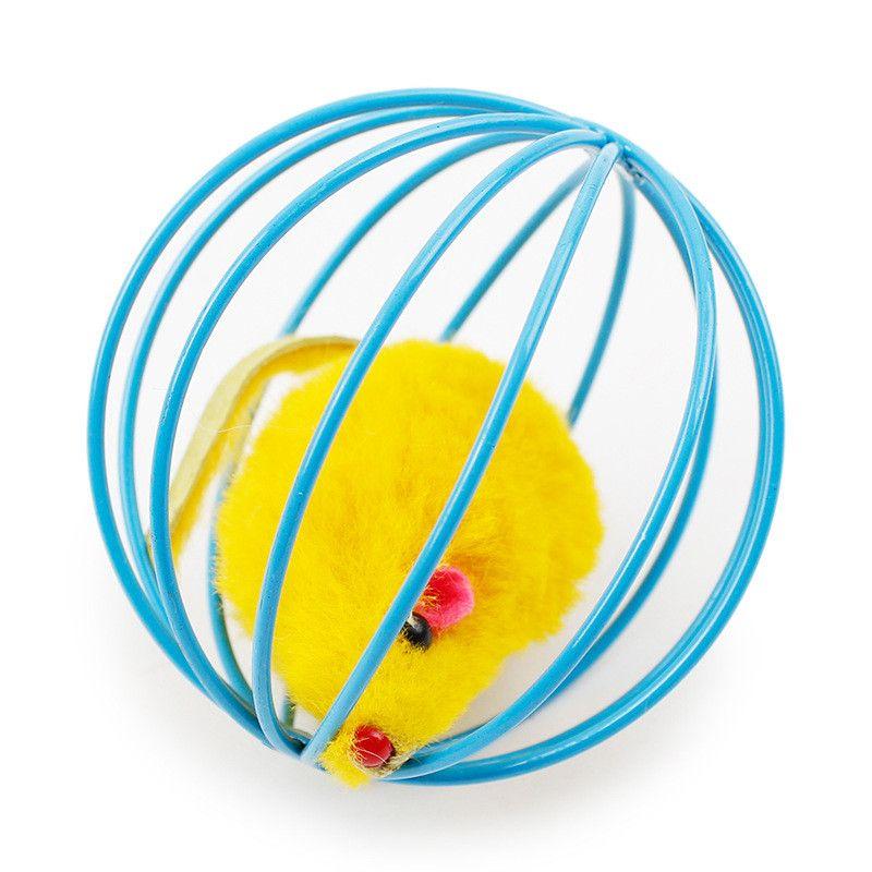 Популярные Новые Cat Toy Mouse Болл Прекрасная Котик подарков Смешные игрушки играть мышь мяча лучший подарок для домашних кошек Продукты