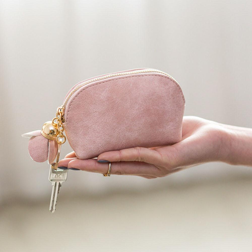 Sacos para as mulheres 2019 Mulheres de Couro Pequeno Mini Titular da Carteira Bolsa Da Moeda Da Embreagem Bolsa Zip Coin bolsa feminina * 0.92