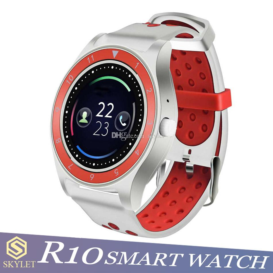 R10 Smart Watch Fitness Tracker Smart Bracelet with SIM Card Slot Camera for Android Apple Watch MTK6261D with Retail Box
