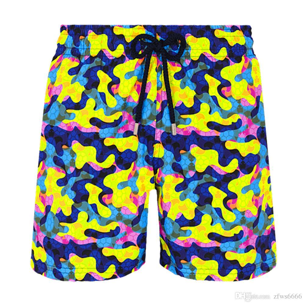 Vilebrequin Mens Beach Shorts Vilebreque Shorts 0095 Costumi da bagno di marca Polopus Starfish Tartarughe Stampa Tartaruga Maschio Banco da bagno Pantaloncini Asciugatura rapida Vilebre
