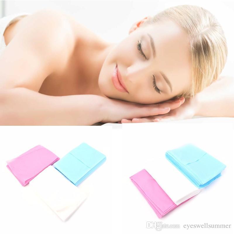 180 * 80cm يمكن التخلص منها تدليك طبي غير المنسوجة وسادة السرير
