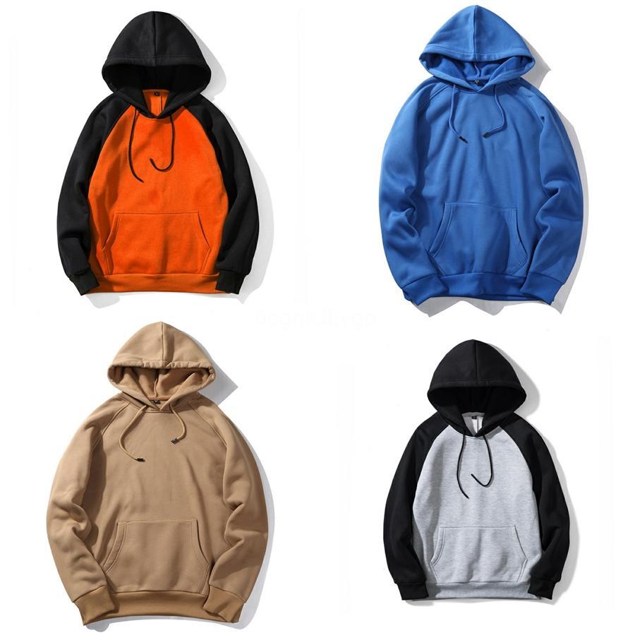 2020 Quente New Fleece Hoodies Homens Inverno Mens revestimentos encapuçados Fatos Outwear Homme Sportswear grosso com capuz de lã camisola 5XL # 156