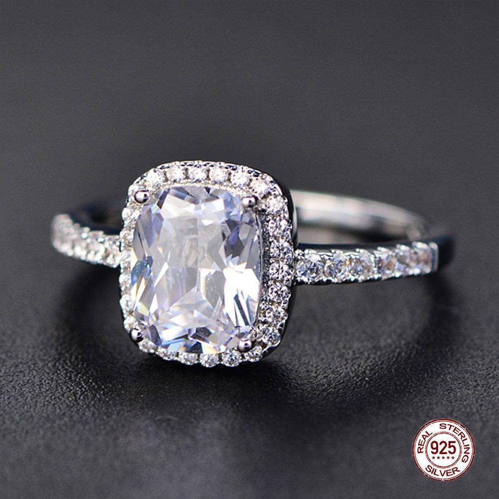 mughal gems /& jewellery 925 Sterling Silver Ring Natural Blue Quartz Gemstone Fine Jewelry Ring Size 7 U.S