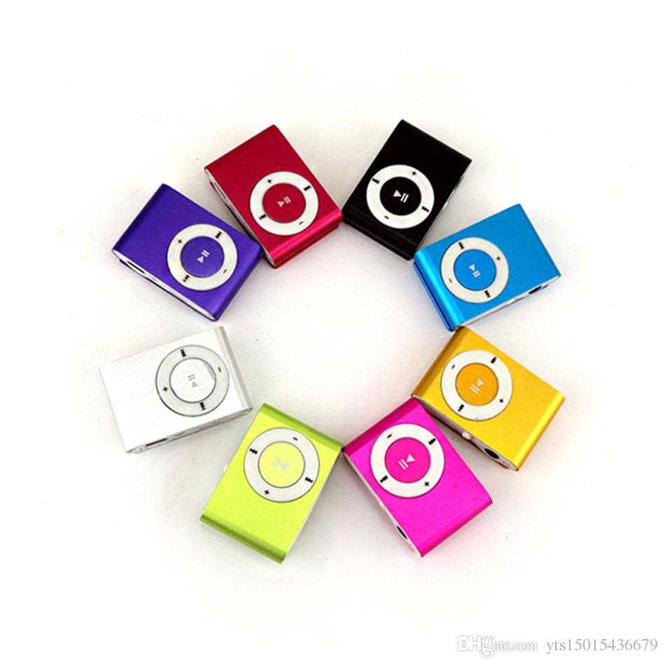 Factory Outlet Mini Portable MP3 Music Player Mini Portable Clip MP3 Music Player Waterproof Sport Mini Clip Mp3 Music Player Walkman