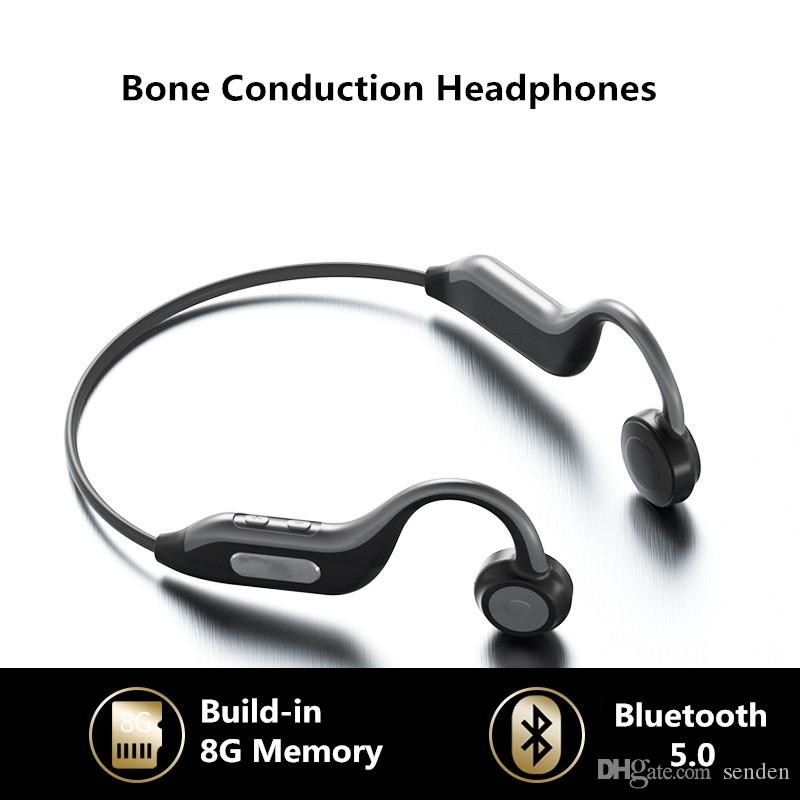 Super B1 Bone Conduction Bluetooth Headsets Outdoor Sports Waterproof Wireless Headphones With Mic Hands Free Earphones Build In 8g Memory Wireless Headphones Best Bluetooth Cell Phone From Senden 28 15 Dhgate Com