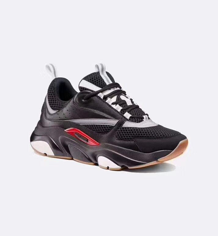 2019 nuevos zapatos deportivos para hombre B22 de alta calidad zapatos casuales para mujer de moda marca de diseñador francés zapatos casuales 1362