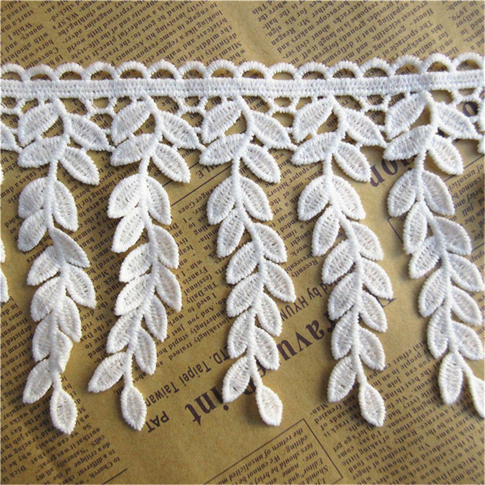 Beautiful Tassel Lace Trim Ribbon Bridal Wedding Dress Sewing DIY Craft 2 Yards