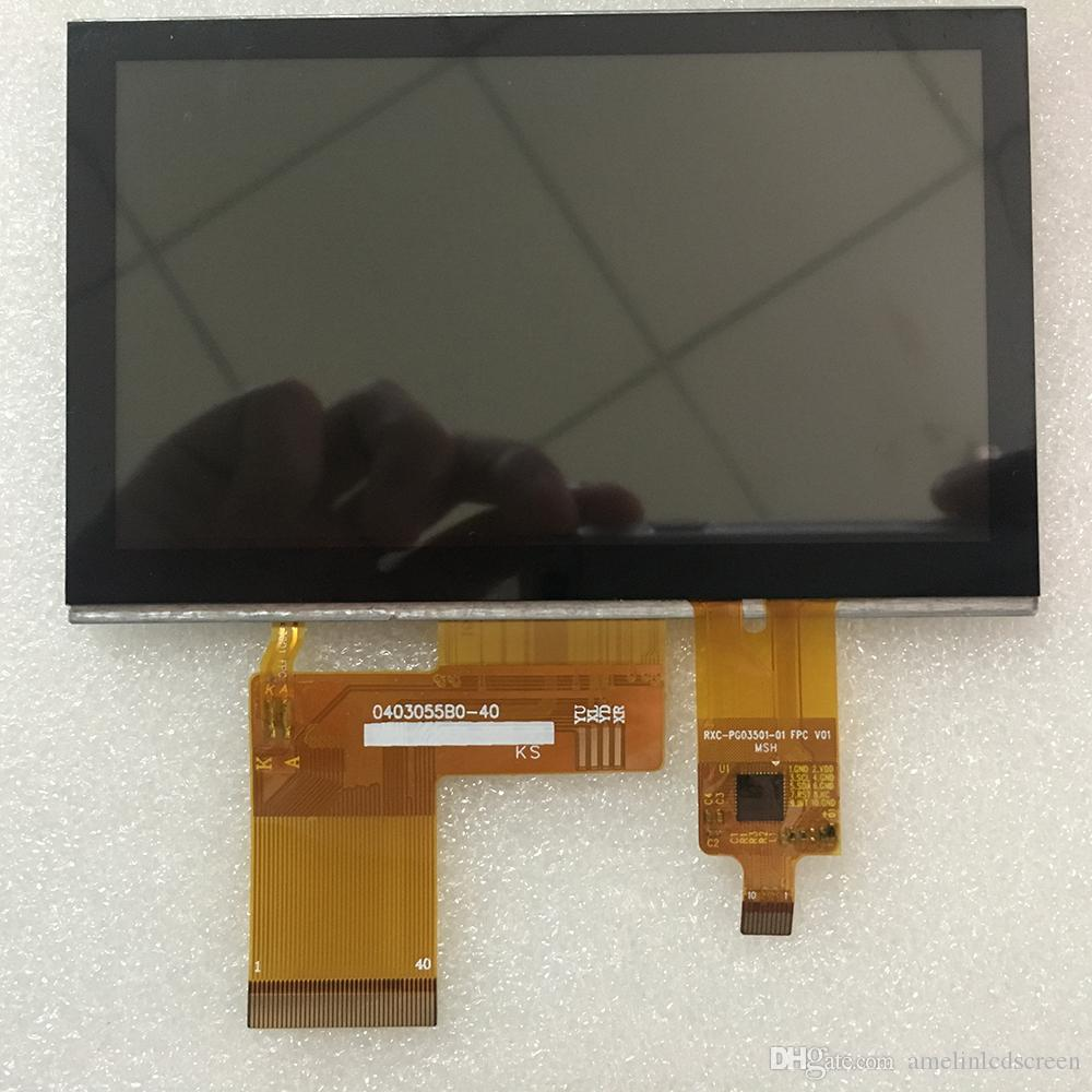 4.3 inch 480*272 tft lcd module touch screen with RGB interface display from shenzhen amelin panel manufacture