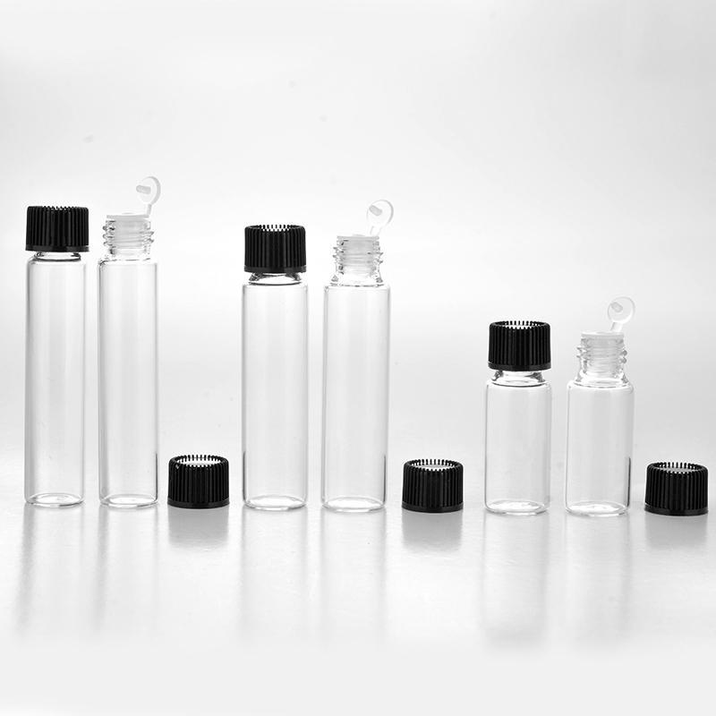 300pcs 8 ML portatile vetro smerigliato bottiglia di profumo Storea riutilizzabile con tappo vuoto cosmetico oli essenziali fiala da DHL