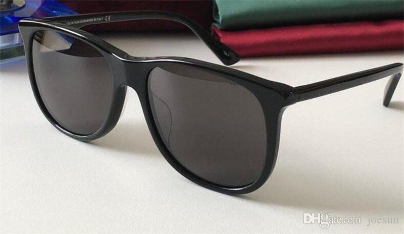 2019 Nuovi occhiali da sole firmati 0263 occhiali da sole di alta qualità con montatura quadrata di qualità quadrata 400 uv
