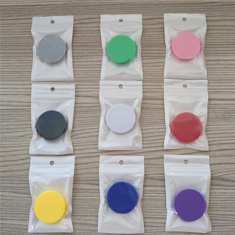 Support de téléphone portable universel avec la colle pour Iphone xsmax x xr 9 8 7 6 5 8plus galaxie Samsung mobile avec sac opp