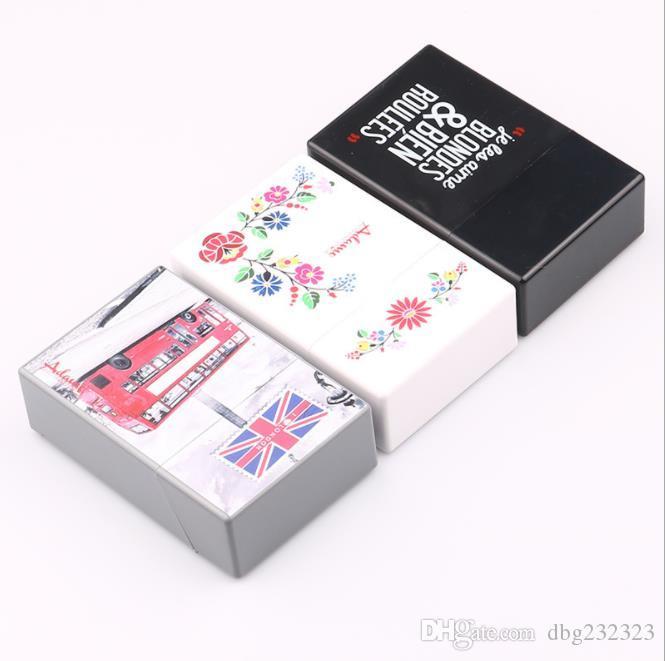 Nuevos paquetes de cigarrillos de plástico impresos a color de 97 mm con resistencia a la lucha hermética