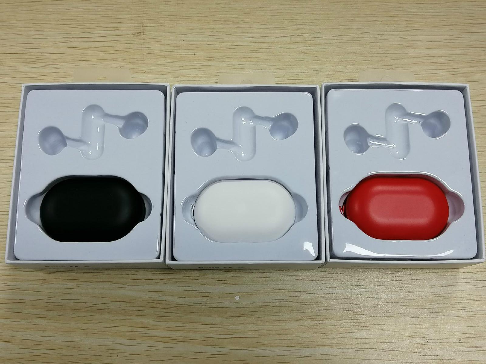 Posto sem fio 3 Headset Bluetooth macaron gancho fone de ouvido Fones de ouvido Power Pro 8HR vs F9 para iPhone x 11 Samsung s10 universal