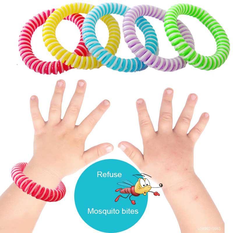 Синий Лотос Многофункциональный комаров браслет для взрослых Детская Foot кольцо Голова Rope комаров Бесплатная доставка R1501