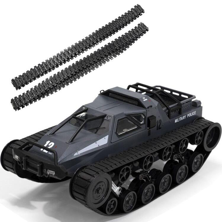 SG 1203 RC Tank Car 2.4G 1:12 High Speed Full Proportional Control Vehicle Models Wading Depth With Gull-wing Door Metal Crawler