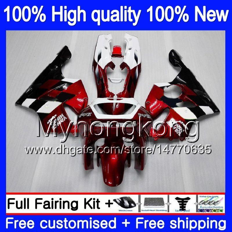 Body For KAWASAKI ZX 636 600CC ZX-636 1994 1995 1996 1997 213MY.0 ZX636 ZX-6R ZX600 ZX 6 R 6R ZX6R 94 95 96 97 Fairings kit Wine red black