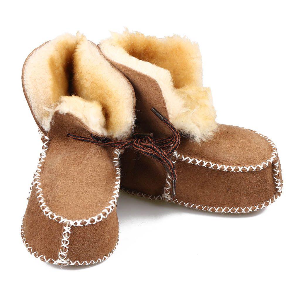 Mouton Chaussures Acheter Garçon Bébés Fourrure De Chaussons Bébé e Peau Véritable Bottes Bébé Chaussures Filles En D'hiver En De Chaudes Laine Cuir SpzMjqLUVG