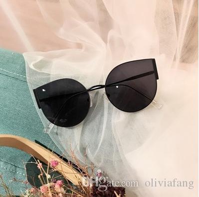 Nuevo Ojo de gato Gafas de sol de mujer Lentes polarizadas Tonos hermosos Color de moda Mujeres Gafas de sol con forma vintage Gafas de sol de mujer Gafas de sol negras