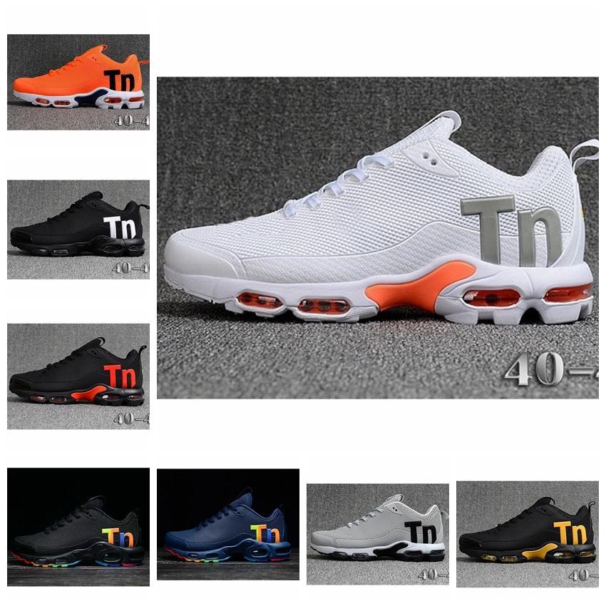 Nike air max Flyknit Utility TN Plus 2020 TN Além disso herança e Inovação Lime explosão e Platinum Tint Preto Branco Explosão amarela Mens Mulheres Designer Running Shoes
