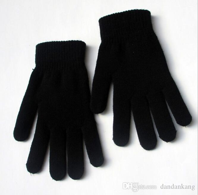 Mulheres Winter Knit Luvas de Inverno de lã quente luvas Luvas Ciclismo Ski Glove Knited Magia Thicken Glove