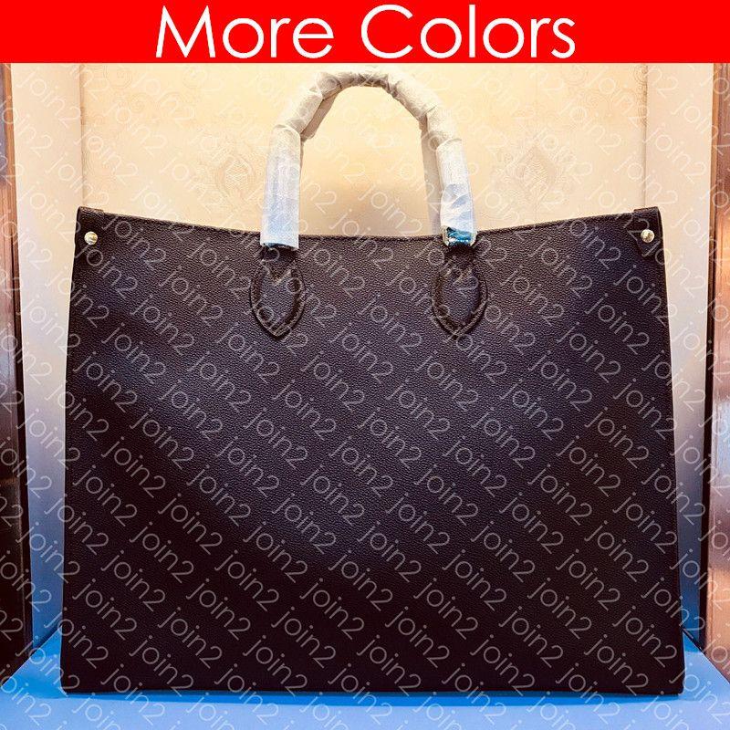 Hombro GM M44576 OnTheGo de mano del diseñador de moda de mujer Compras Bolsa diaria de lujo bolso Pochette Accessoires leopardo del estampado M44674