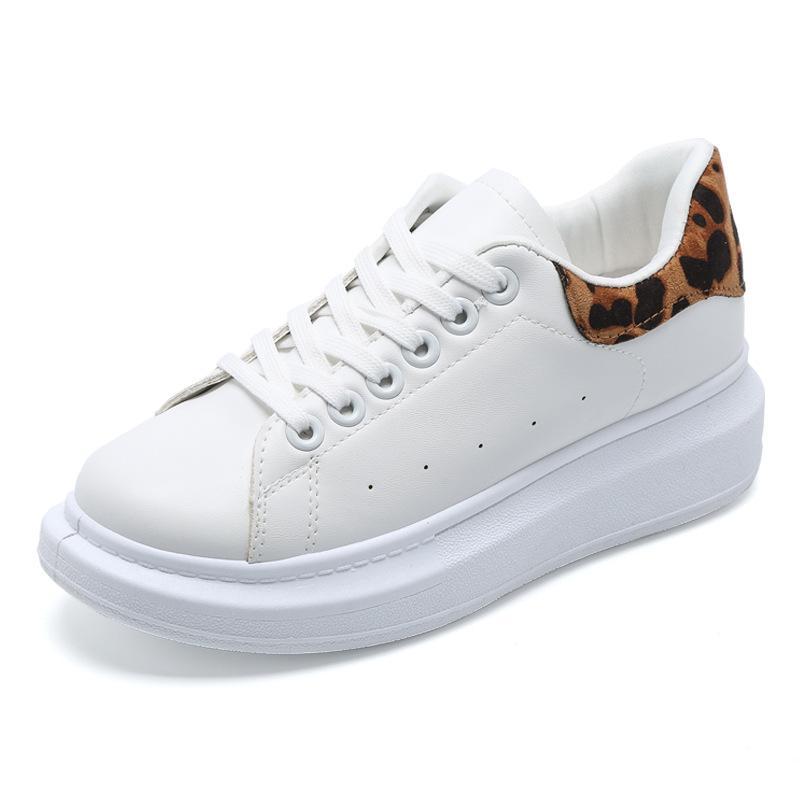 2019 scarpe bianche della molla piccola femmina centinaio versione coreana scarpe di bordo cravatta piatto soled scarpe sportive casuali