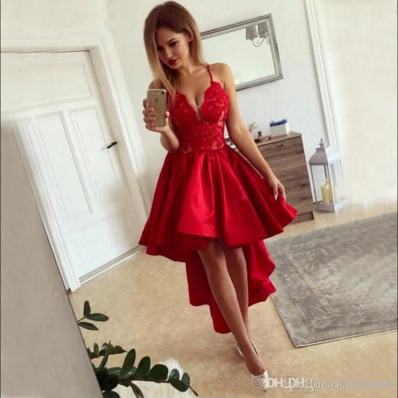 robe de cocktail pour mariage rouge - 58%