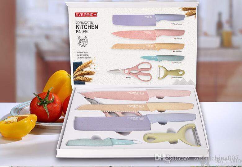 Acheter Couteaux De Cuisine Cadeau Six Ensembles De Cadeau Cadeau