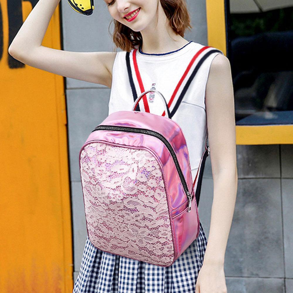 US Fashion Women Leather Backpacks Handbags School Bag New Mini Travel Rucksack