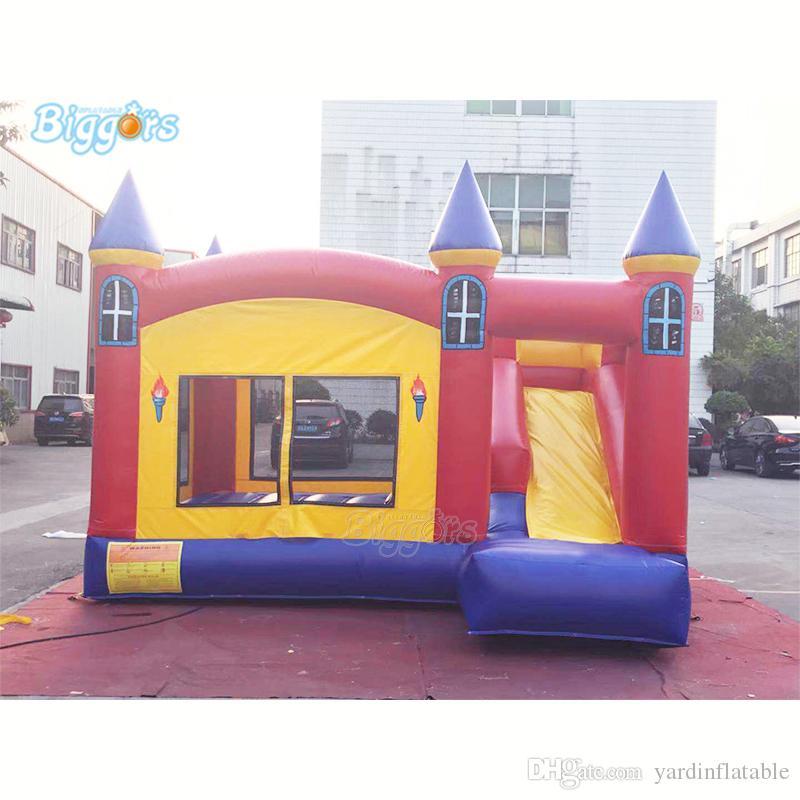 Partido de diversões ao ar livre Gonflable Jumping Slide Boucner Castelo Inflável Casa Bouncy Combo Com Blower Grátis