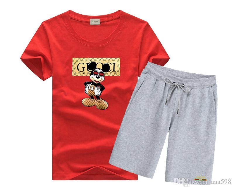 de los nuevos hombres de la camiseta Conjunto impresión de la letra ocasional del algodón Camiseta cómoda D6117 envío libre determinado de cuello redondo hombres de la moda