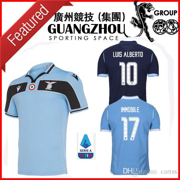 120 Lazio especial del fútbol jerseys de 120 años de aniversario 2020 maglie edición especial INMÓVIL LUIS ALBERTO BASTOS SERGEJ las camisas del fútbol