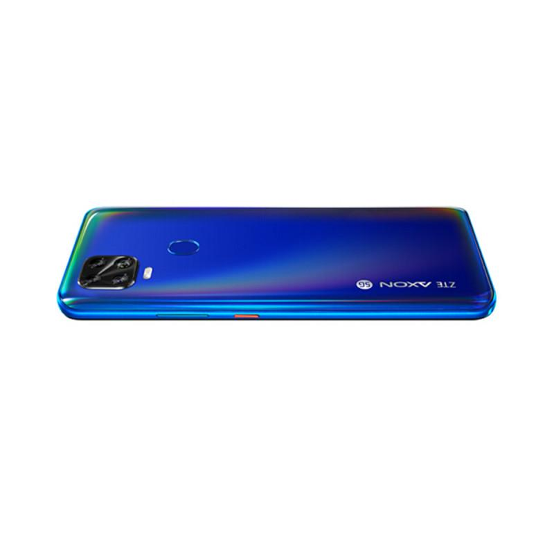 "ZTE origine Axon 11 SE 5G mobile LTE Téléphone 6Go RAM 128Go ROM MTK 800 Octa base Android 6,53"" Plein écran 48MP AI 4000mAh Face ID Cell Phone"