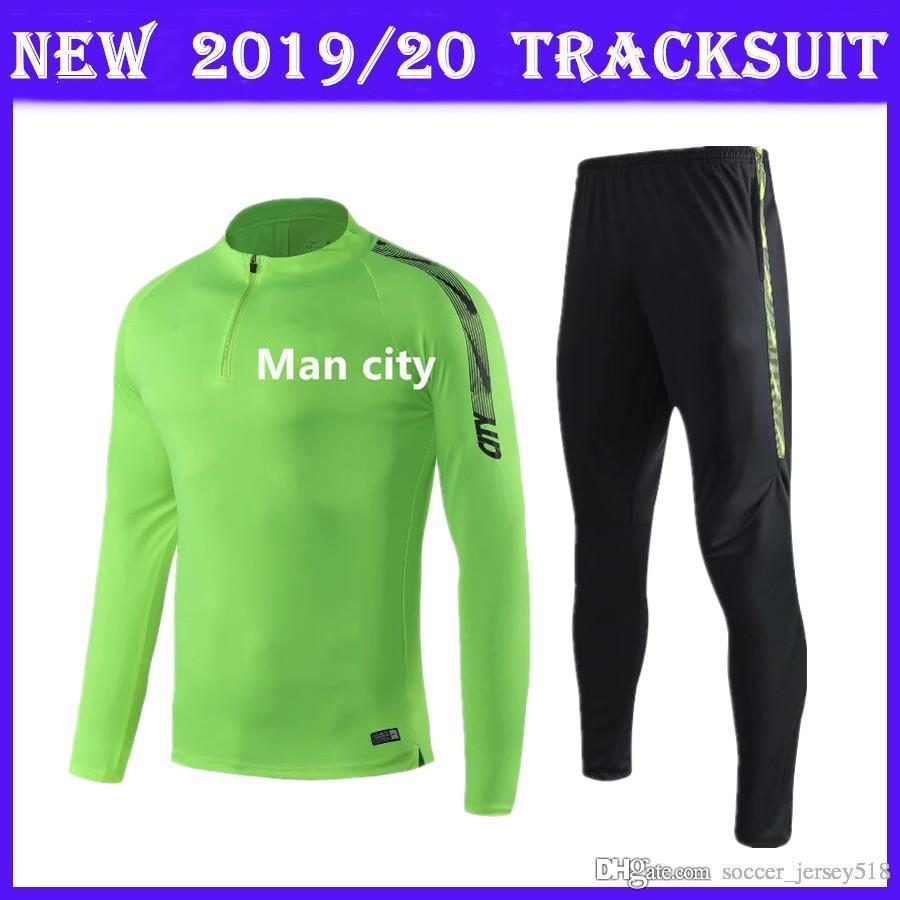 new arrivals 26136 f86a7 2019 : 2019/20 Tracksuit Kit Man City Training Suit Adult Uniform 19/20  Football Sportswear Jersey Manchester Long Sleeve Training Suit From ...