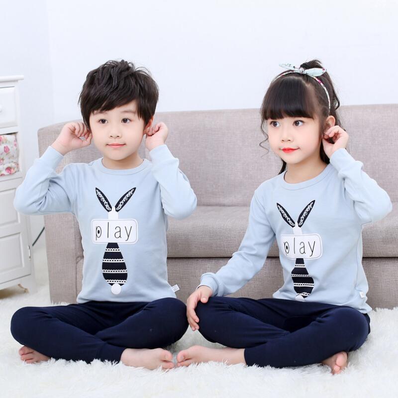 Arbre Wrasse Garçons Vêtements Set Enfants Vêtements Ensembles Vêtements pour enfants Vêtements garçons Printemps Automne Enfants Sous-vêtements thermiques mis en 2020
