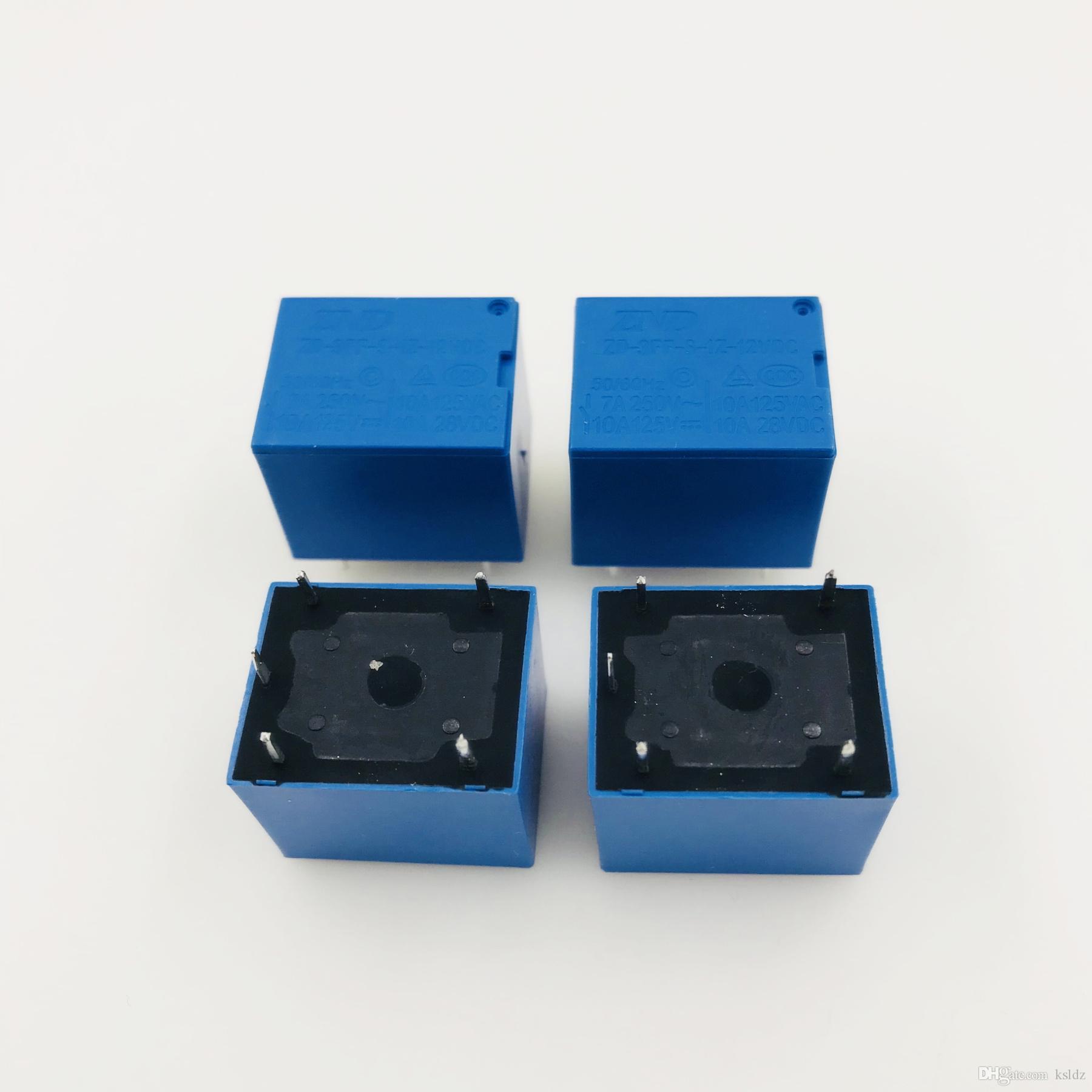 Бесплатная доставка серия (5 частей / серия) оригинальный Новый ZD-3FF-S-1Z-12VDC ZD-3FF-S-1Z-24VDC 5Pins Power Relay