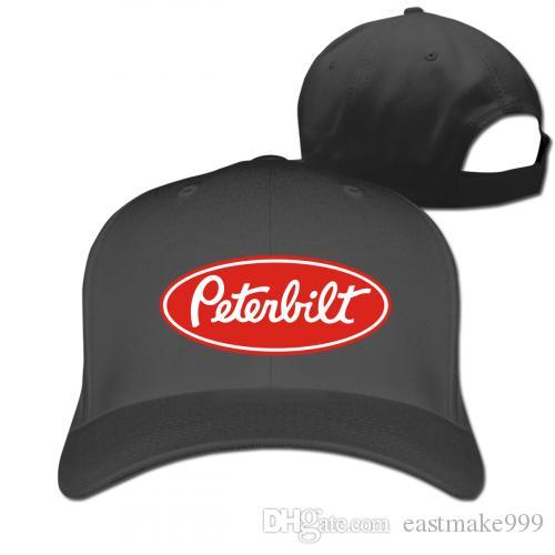 Peterbilt الكلاسيكية شاحنة شعار طباعة كاب قبعة للجنسين الرجال النساء القطن البيسبول الرياضة outdoors سنببك الهيب هوب جاهزة