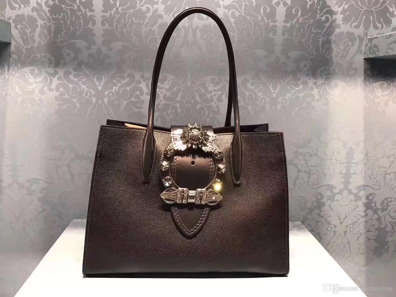 borse di marca famosa di modo borse delle donne del progettista sacchetti di cuoio genuini Lady borse Pattern Chain Shoulder Flap Borse DHL libera il trasporto!