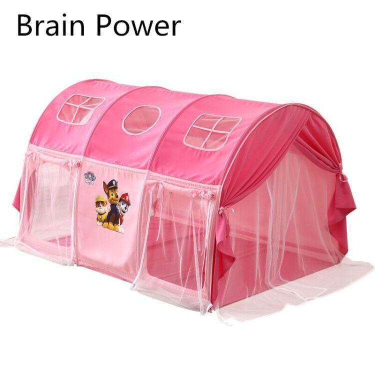 Детская палатка кровать крытый Принцесса Девочка Мальчик автомобиль дом Принцесса дом мать может быть уверена, что ребенок использует его.