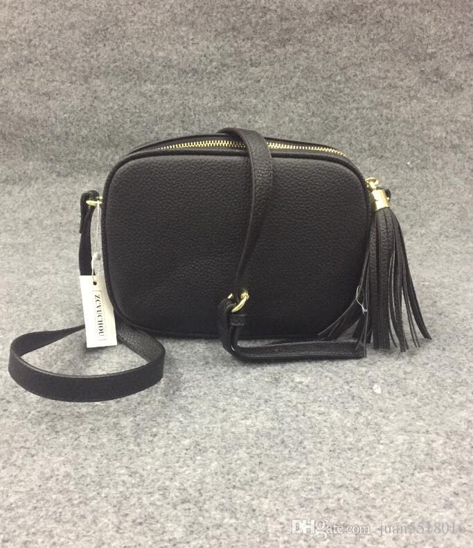 Women Leather Soho Bag Disco Shoulder Bag Purse 308364