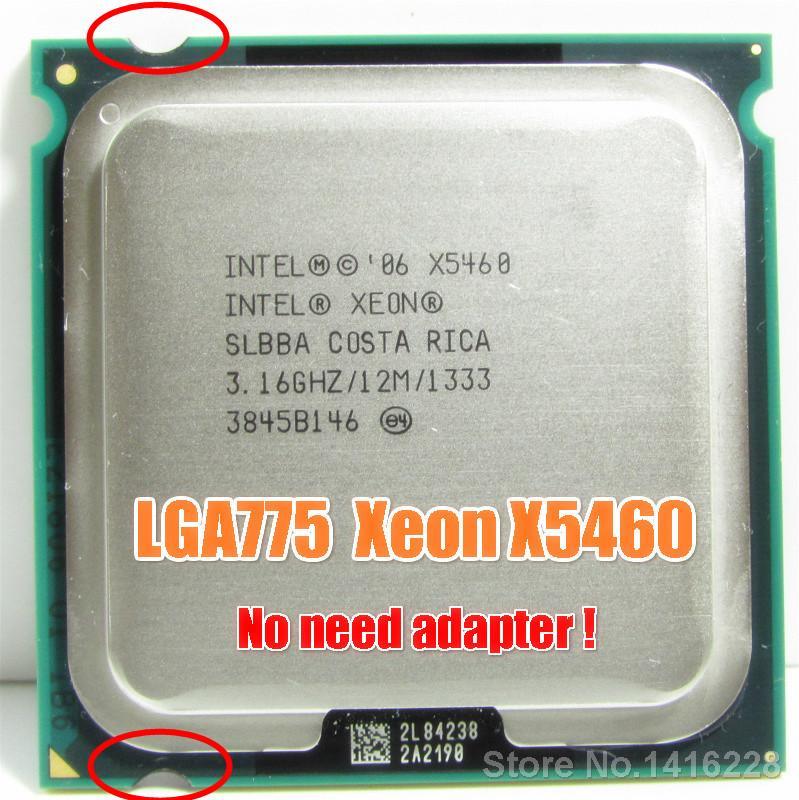 LGA 775 anakart üzerinde Bilgisayar Büro Intel Xeon X5460 İşlemci 3.16GHz 12MB 1333 cpu işleri
