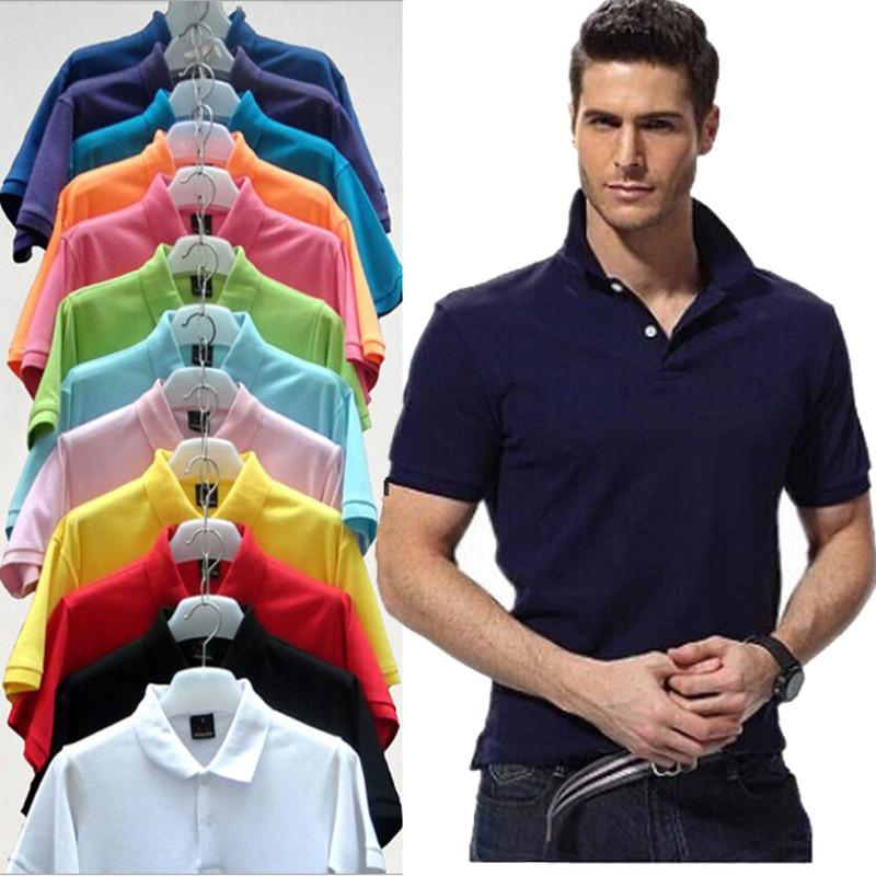 2020 Hot Sale white Mens Polo Shirts Men Desiger Polos Men Cotton Short Sleeve shirt Clothes jerseys Golf Tennis Polos Free shipping