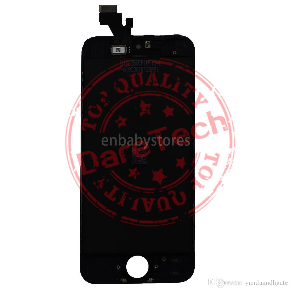 E Lcd For Iphone 5c Display Touch Panels Touch Screen Digitizer Full Assembly Replacement Repair Parts Dhl Shipping