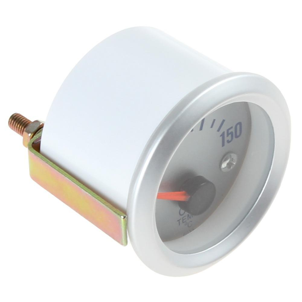 """Freeshipping Hot Sale! New arrival! 50~150 Celsius Degree 2"""" 52mm Oil Temperature Meter Gauge with Sensor for Auto Car"""