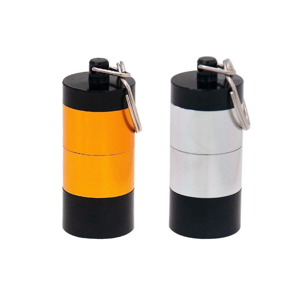 Airted Geruchssicherer Aluminium Rauchen Herb 4 Stück Container Spice Case Tabak Box Mix Farbe Großhandel