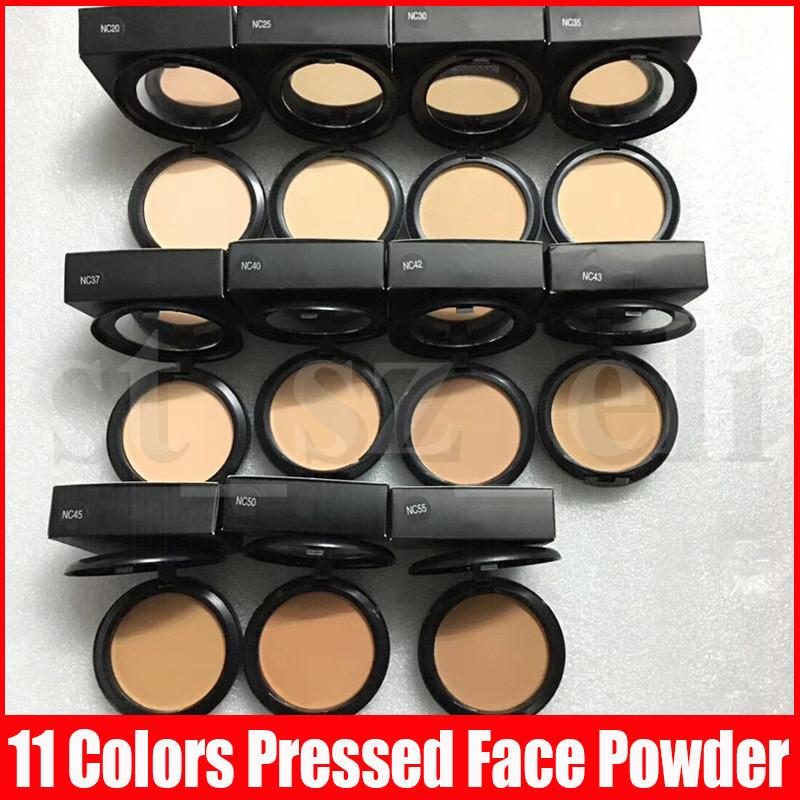 M Face Makeup Powder Plus Foundation Pressed Matte Natural Make Up Facial Powder Easy to Wear