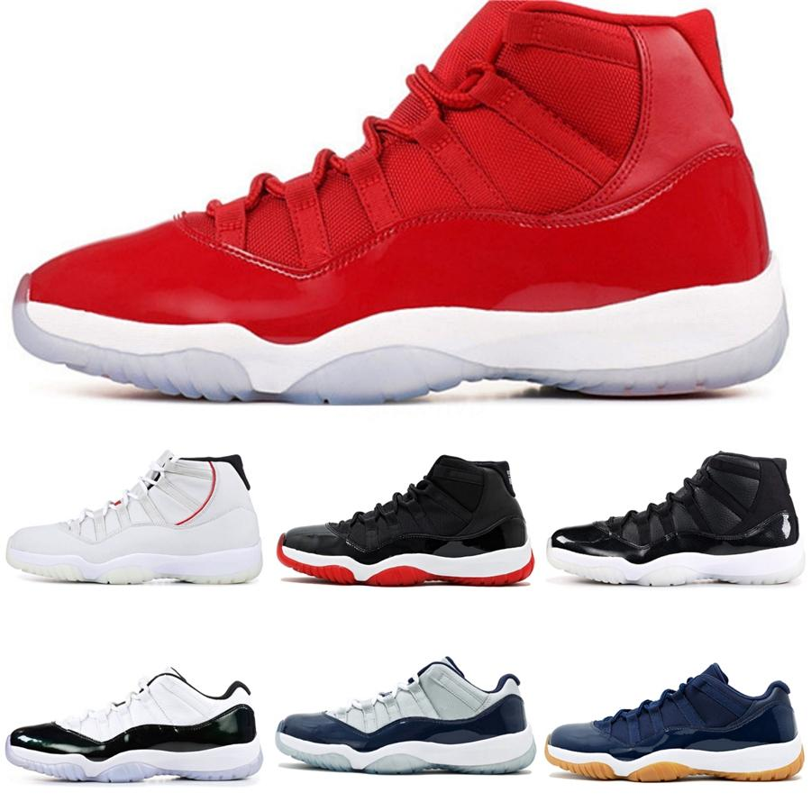 Sapatos 11S Basquete Masculino Travis Scotts Baixa Og WMNS Concord 11 Bred Turbo Verde Jumpman Homens Sports Sneaker # 266